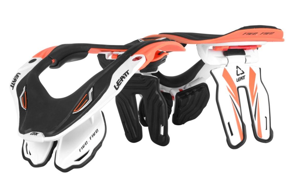 The Leatt GPX 5.5 neck brace for Motocross, BMX and MTB