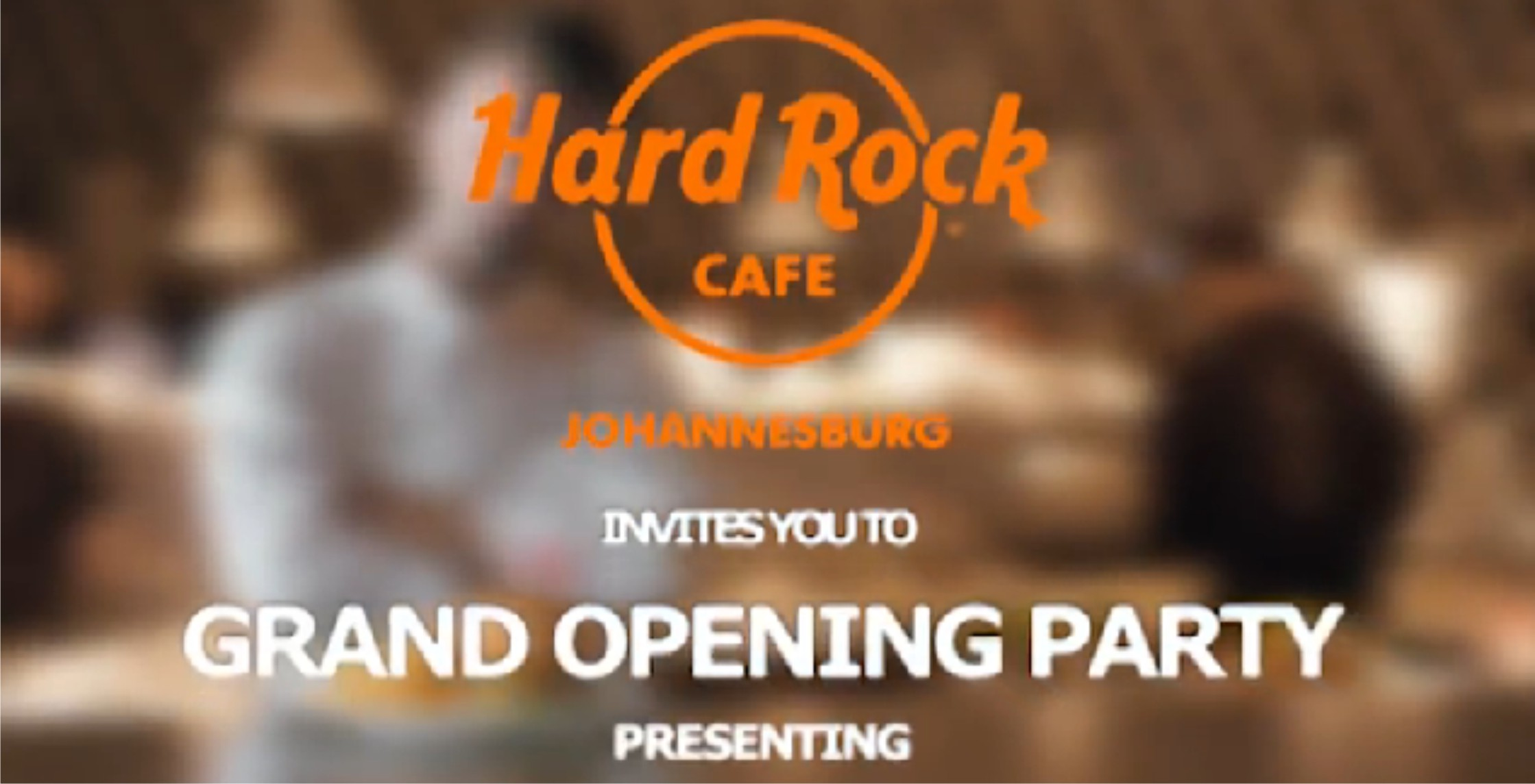 Hard Rock Cafe Johannesburg celebrates its grand opening with a free South African music concert