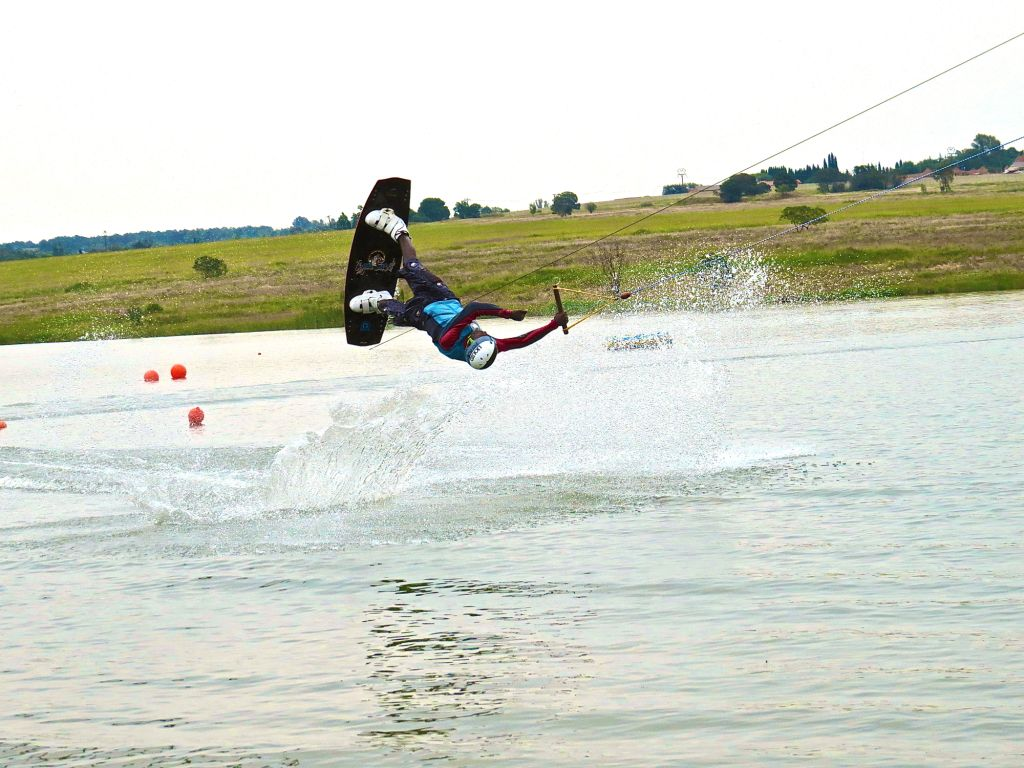 Perfect Dube showing his Wakeboarding style at StokeCity Wakepark