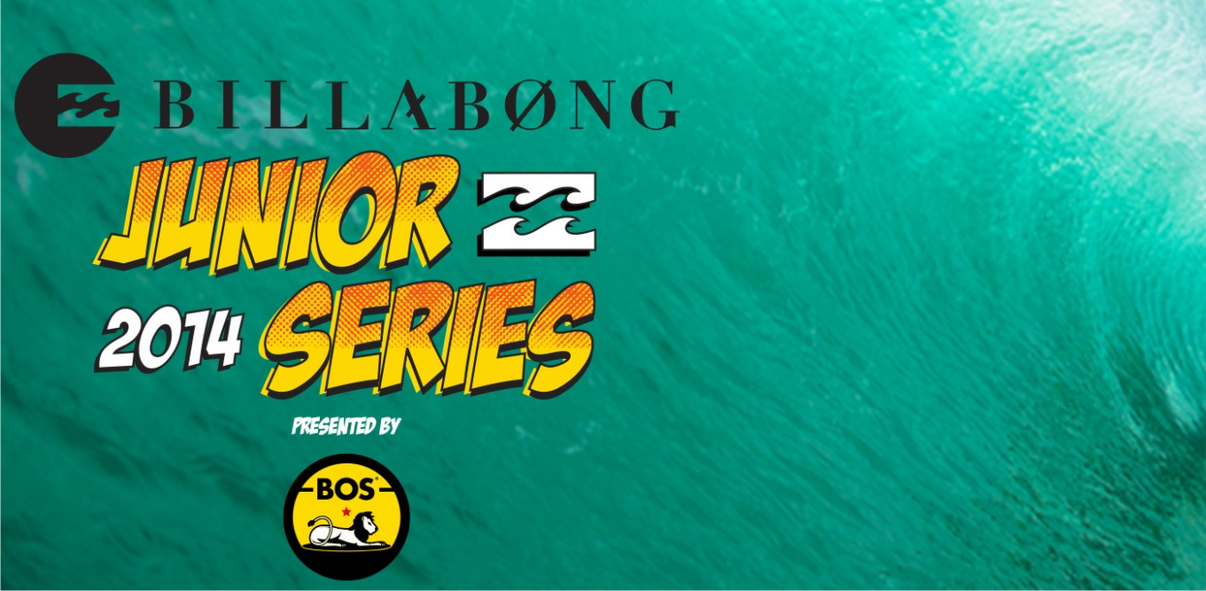 The 2014 Billabong Junior Surfing Series presented by BOS has been announced
