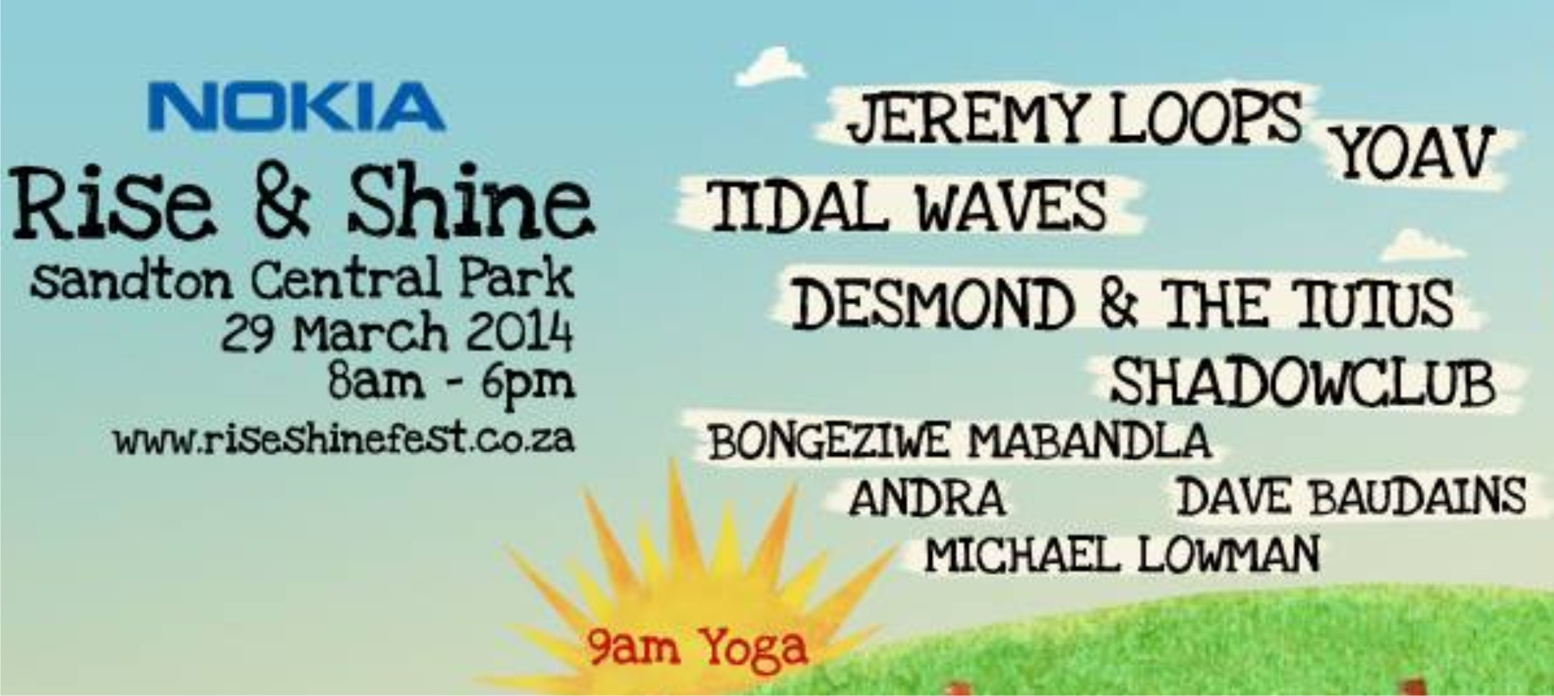 Rise and Shine South African music festival