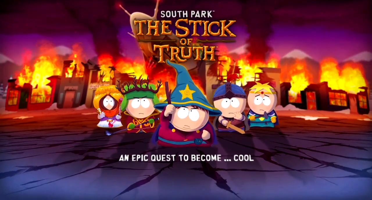 South Park The Stick of Truth for Playstation3, Xbox 360 and Windows PC