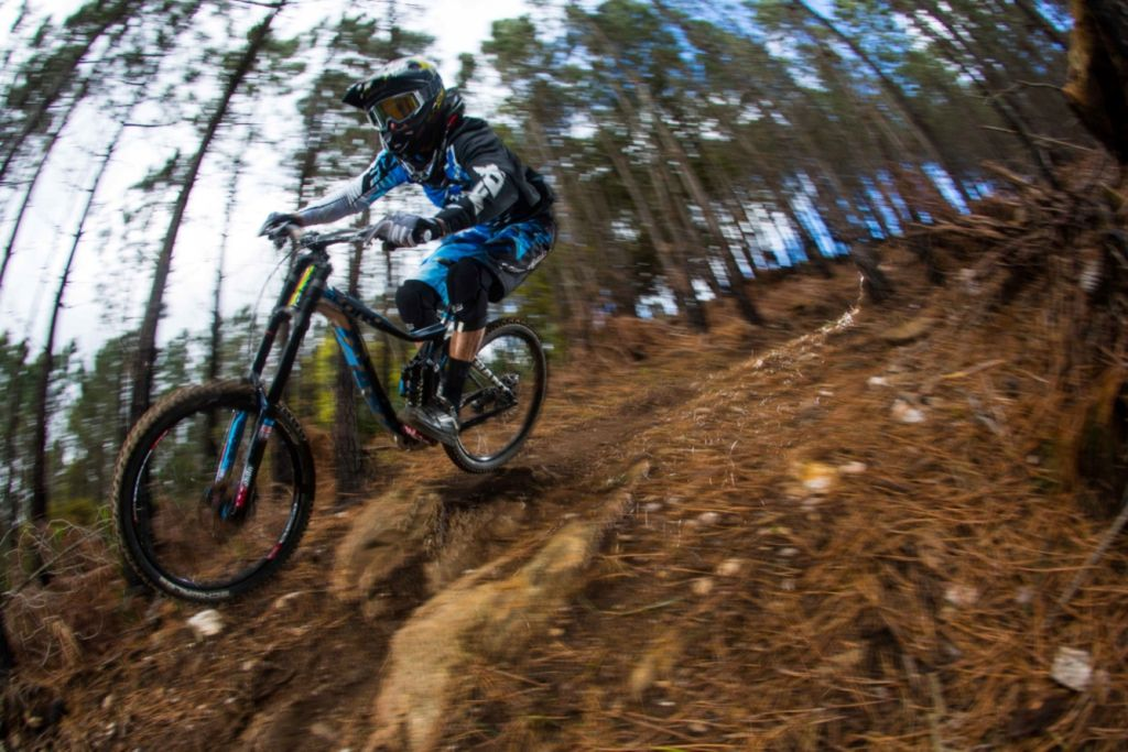 Downhill MTB rider Andrew Neething is ready for the 2014 World Cup Season