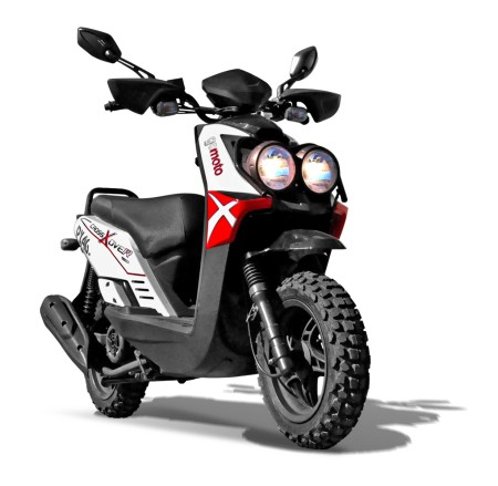moto scooter cross