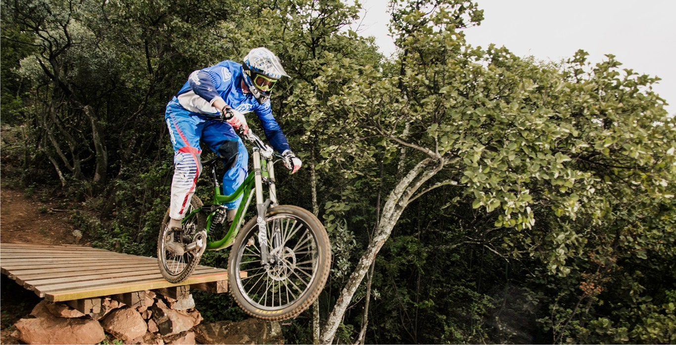 Dustin Rudman Downhill MTB rider