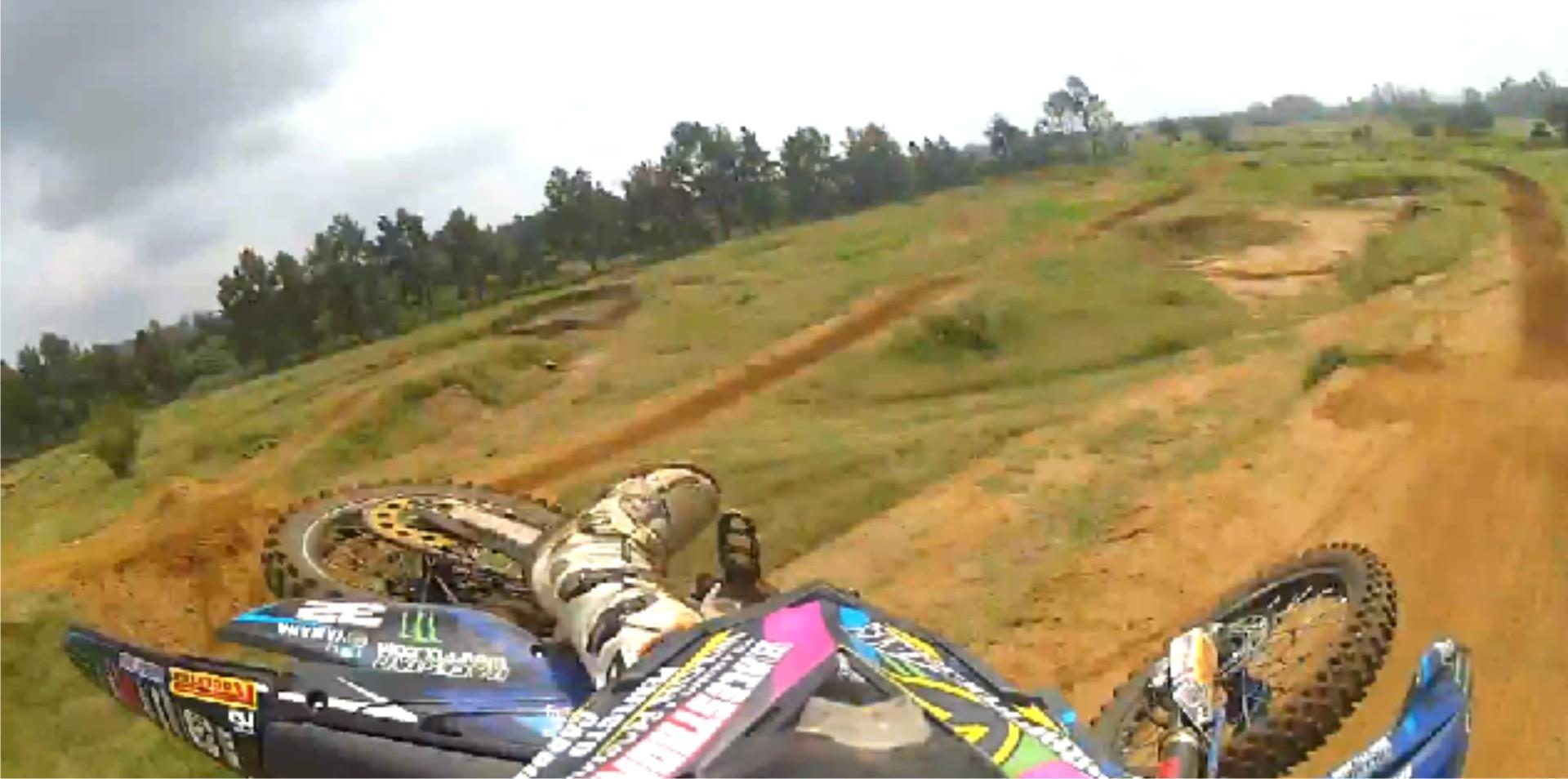 Rustenburg Motocross session video