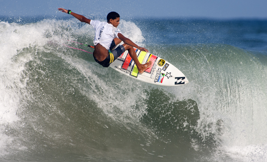 Joshe Faulkner highest placed South African at the Wolrd Junior Surfing Championships