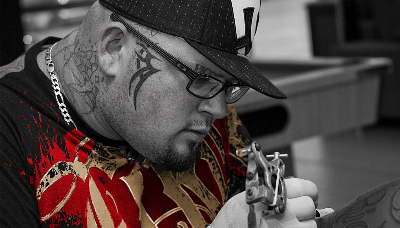 Meet Mike Armstrong a Tattoo Artist from Pietermaritzburg