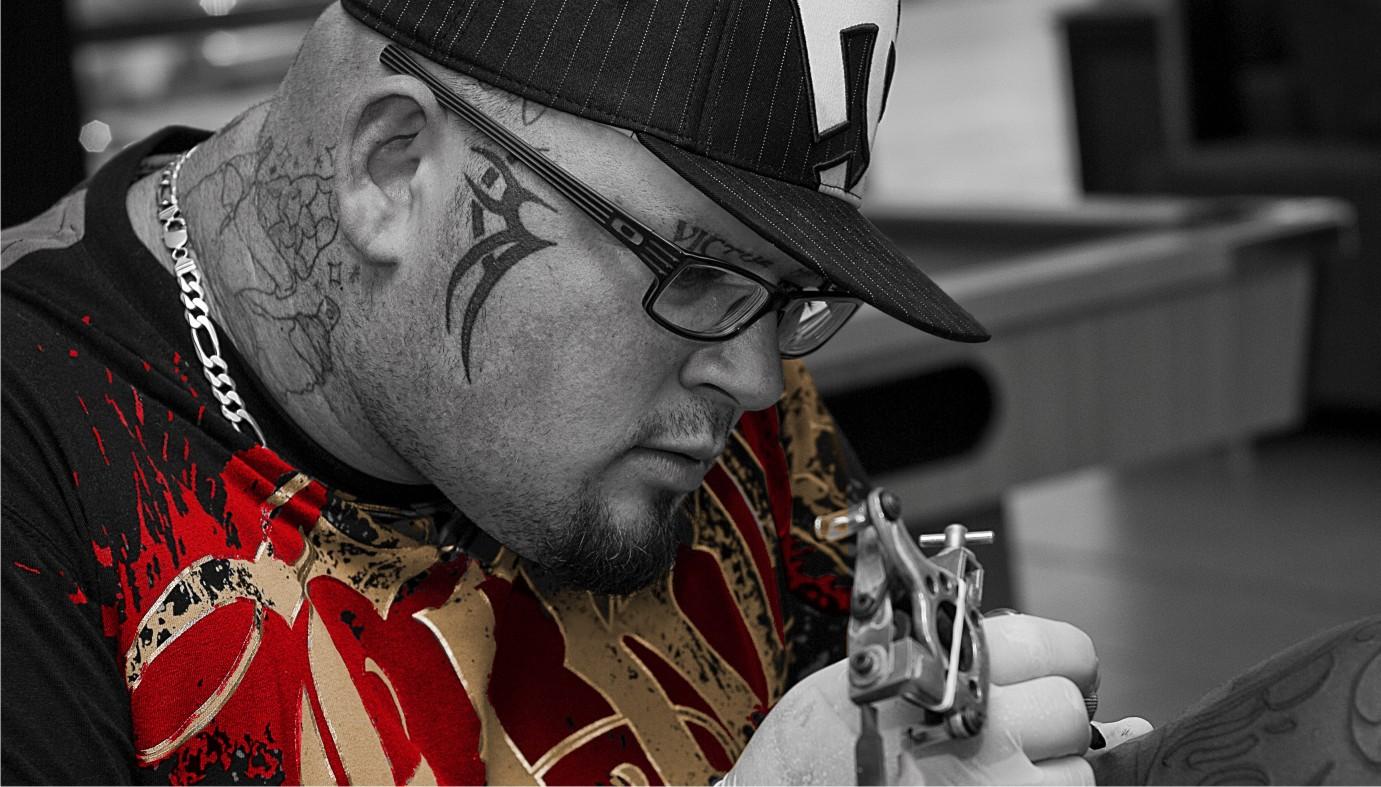 Meet Mike Armstrong a Tattoo Artist from Pietermaritzburg