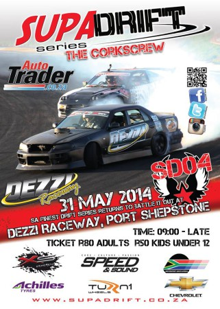 Drifting action hits Dezzi Raceway for the second time for Supadrift Series 04