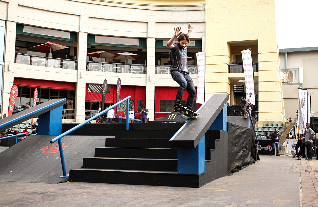 Alan Morola skateboarding his way to the KDC Grand Slam win