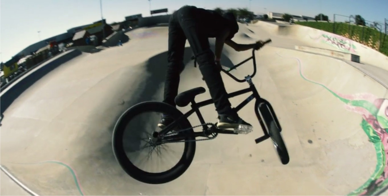 Leeroy and Bibby, the future on BMX in SA video