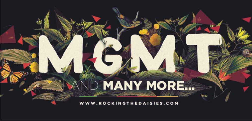 MGMT set to headline Rocking the Daisies 2014