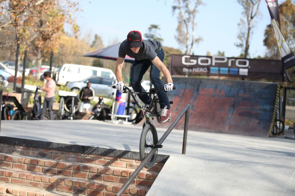 BMX action at its best at the Evals Jam