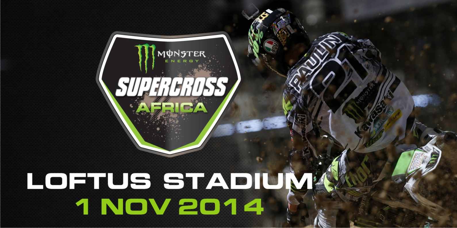 Monster Energy Supercross Africa is coming to Loftus Versfeld