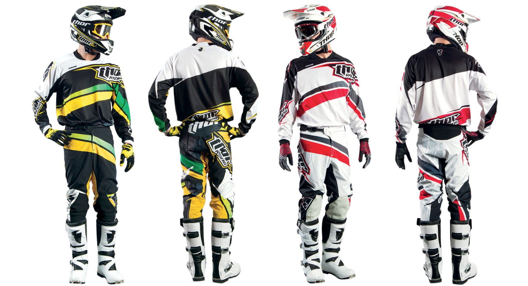 The Thor Prime Slice motocross kit
