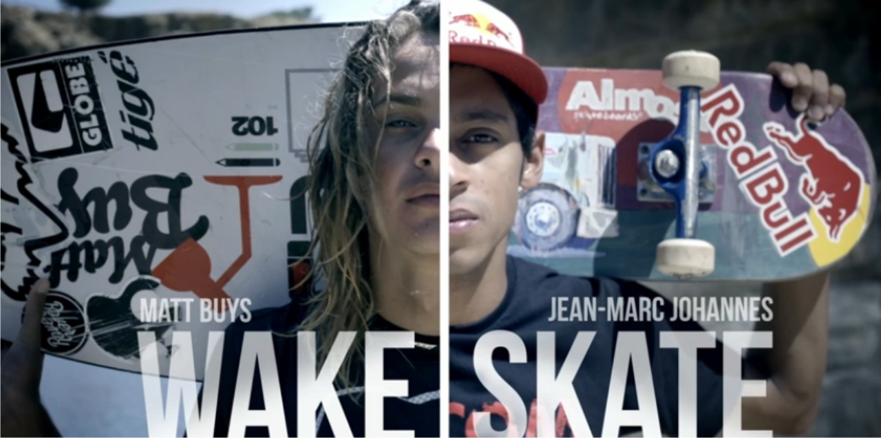 Game of Skate with a twist with Skateboarding and Wakeboarding