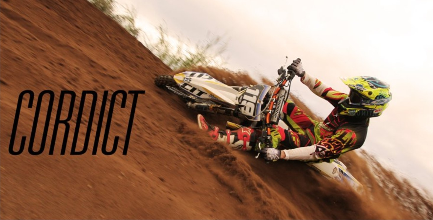 Ryan Angilley ripping the motocross track apart