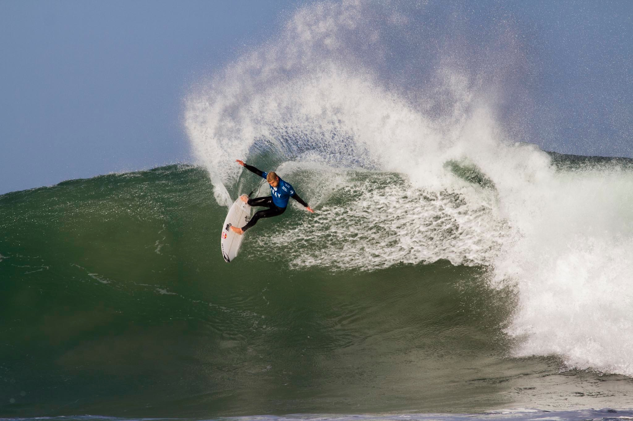 Mick Fanning win the J Bay Open of Surfing