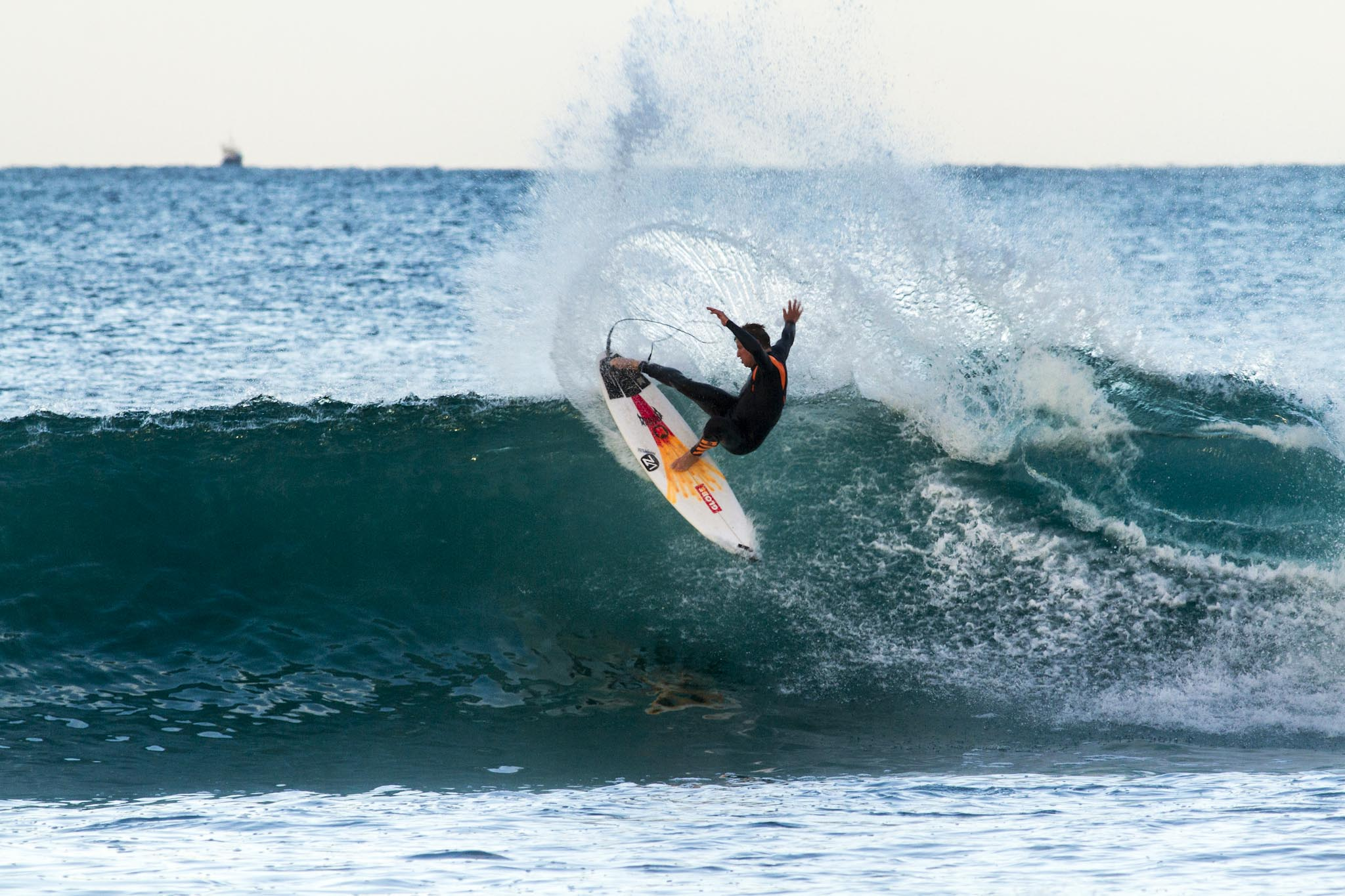 Highlights from Day 4 of the J Bay Open of Surfing