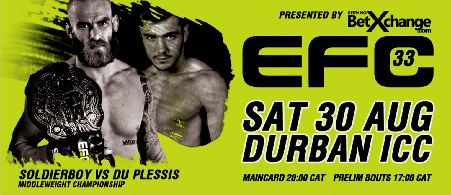 EFC Africa 33 is coming to Durban for the first time