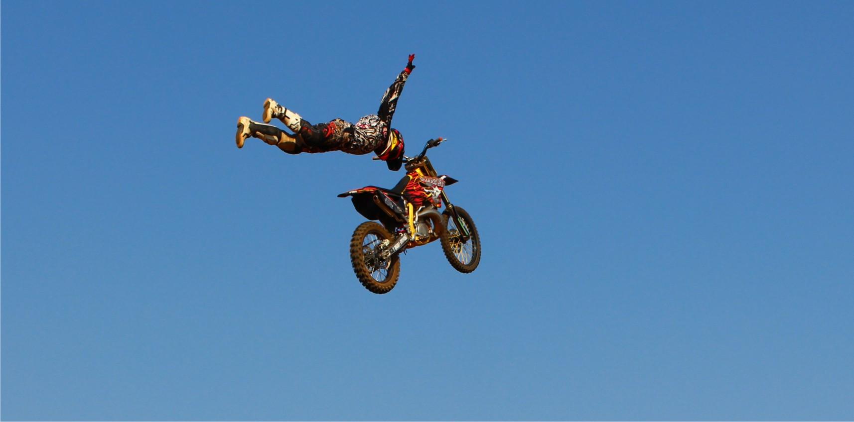 Alastair Sayer Freestyle Motocross king