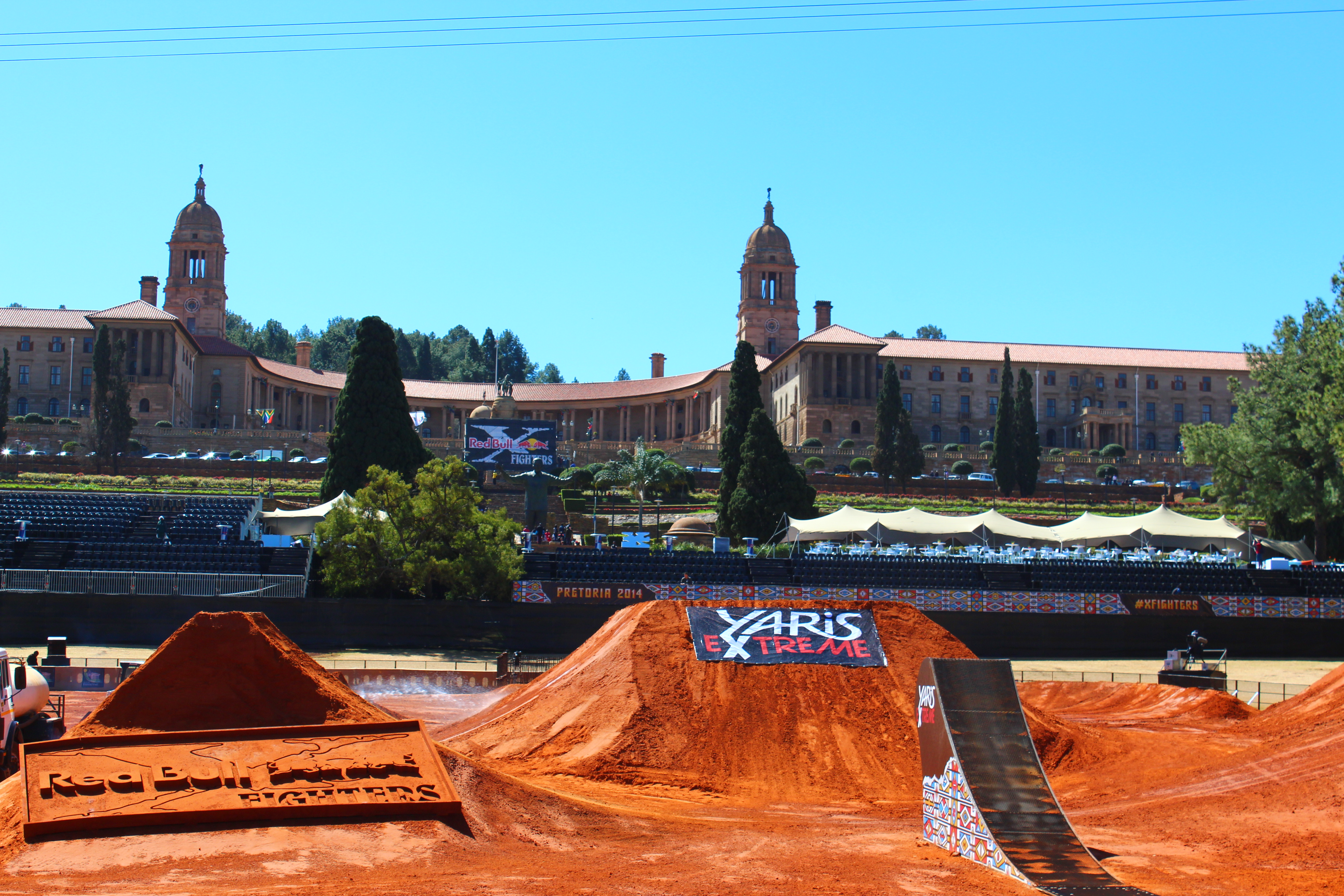 Red Bull X-Fighters Pretoria South Africa Qualifying Results