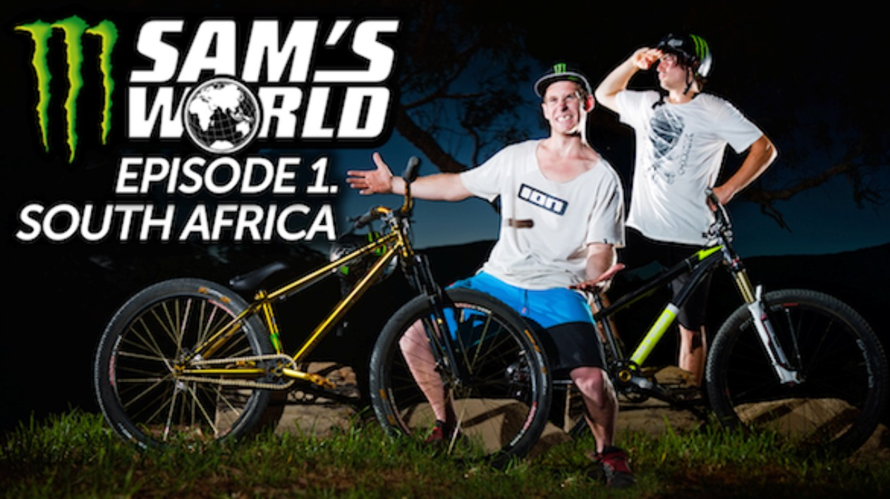 Sam Pilgrim and Sam Reynolds FMB action in South Africa