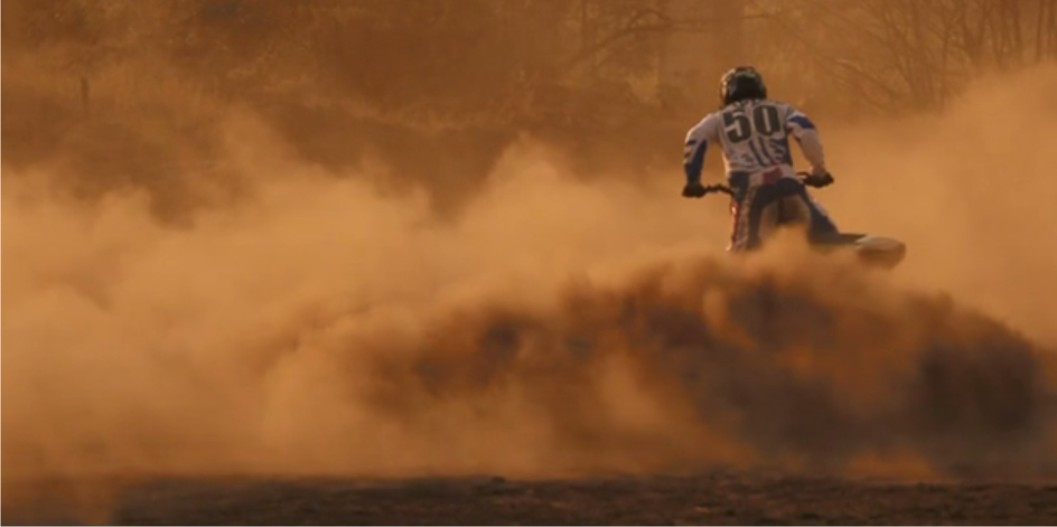 Wyatt Avis winter motocross video