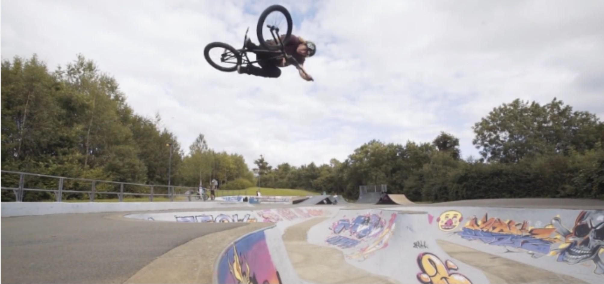 The Greg Illingworth Bell Helmets welcom to the team BMX video