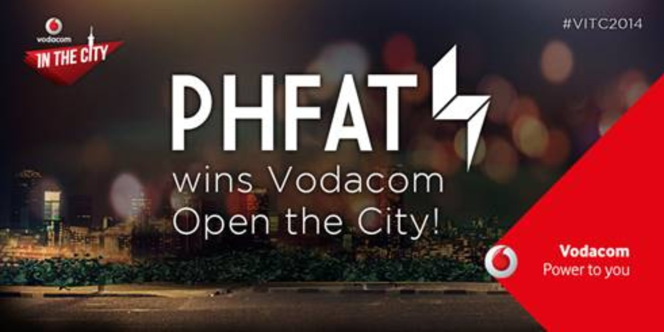 PHFAT wins Open the City and will be performing at Vodacom In The City