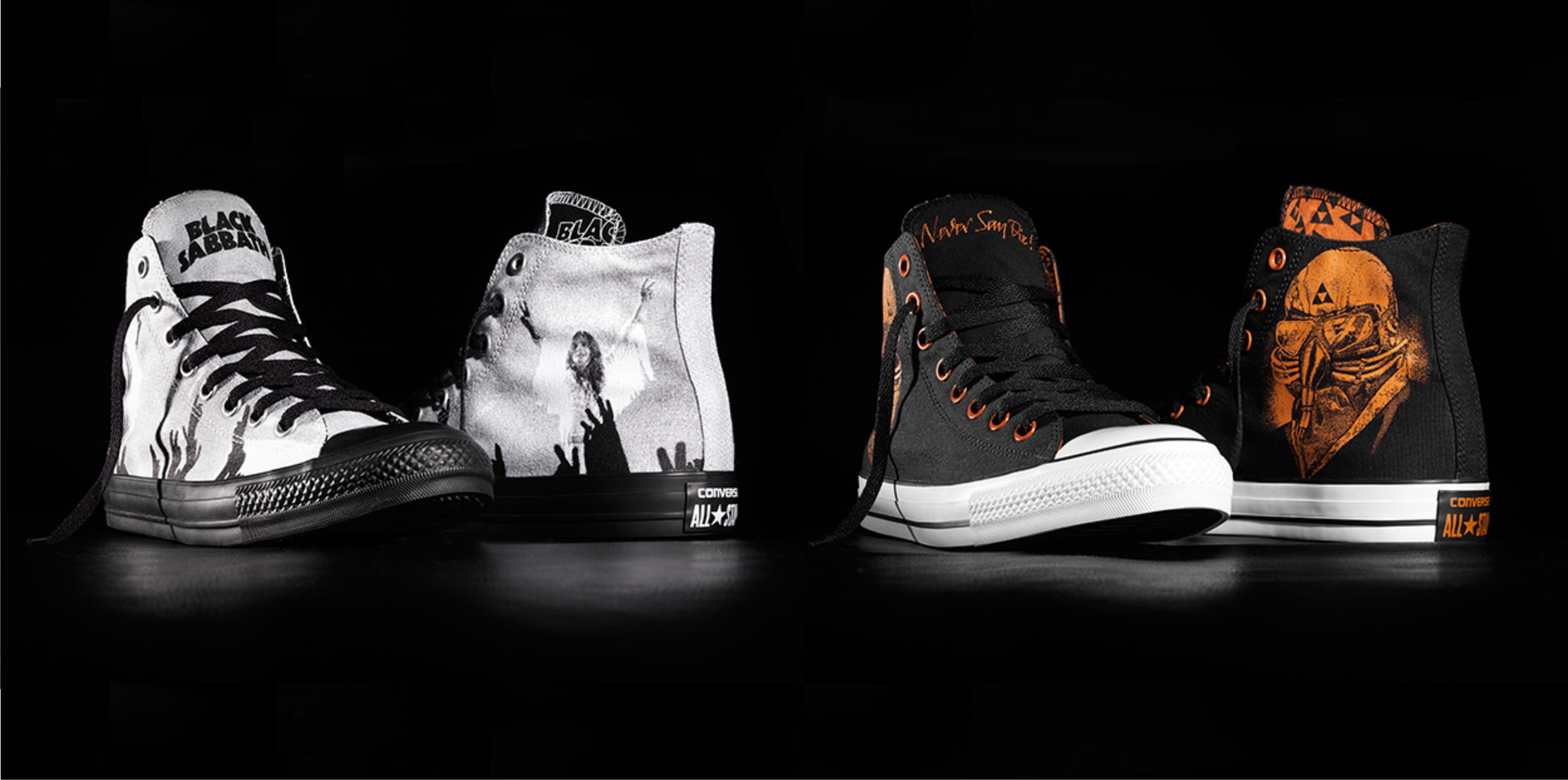 The new Converse Chuck Taylor All Star Black Sabbath sneaker is available in South Africa