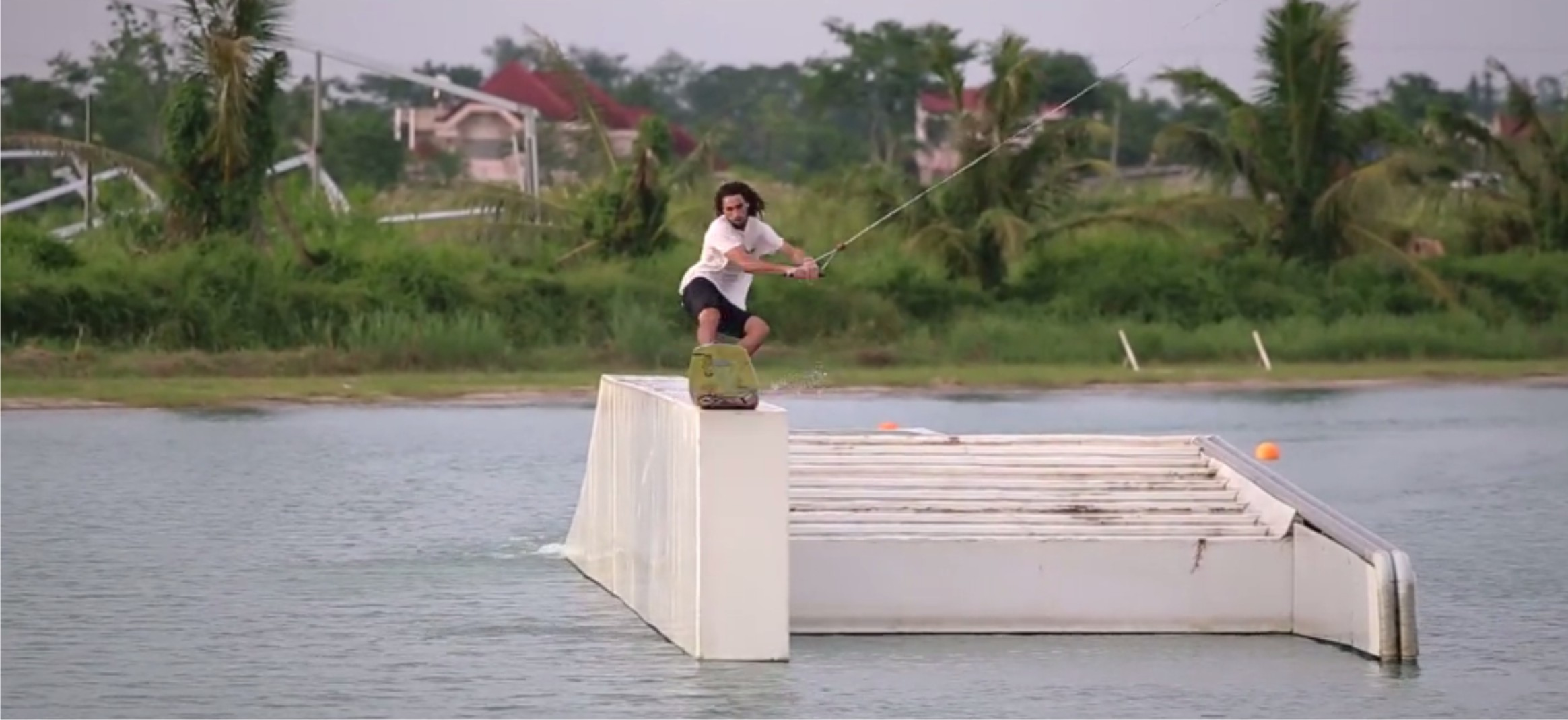 Cameron Graham wakeboarding edit from the Philippines