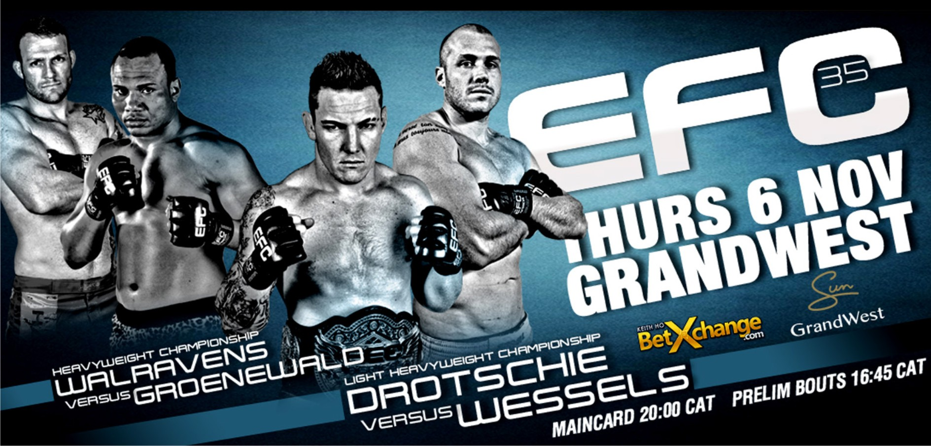 EFC 35 goes to Cape Town