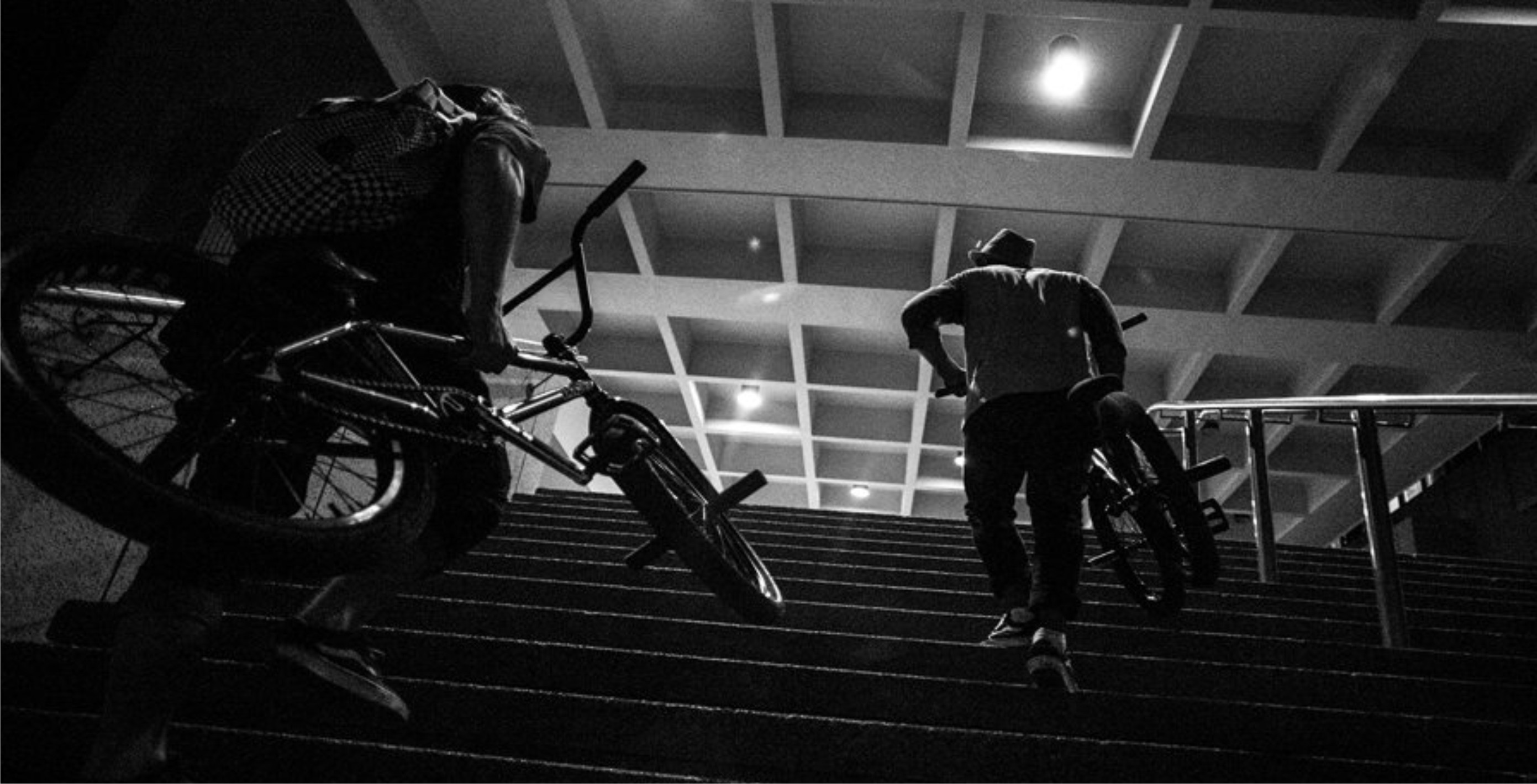 Brandon Blight and Jason Prins welcome to the Evals BMX team video