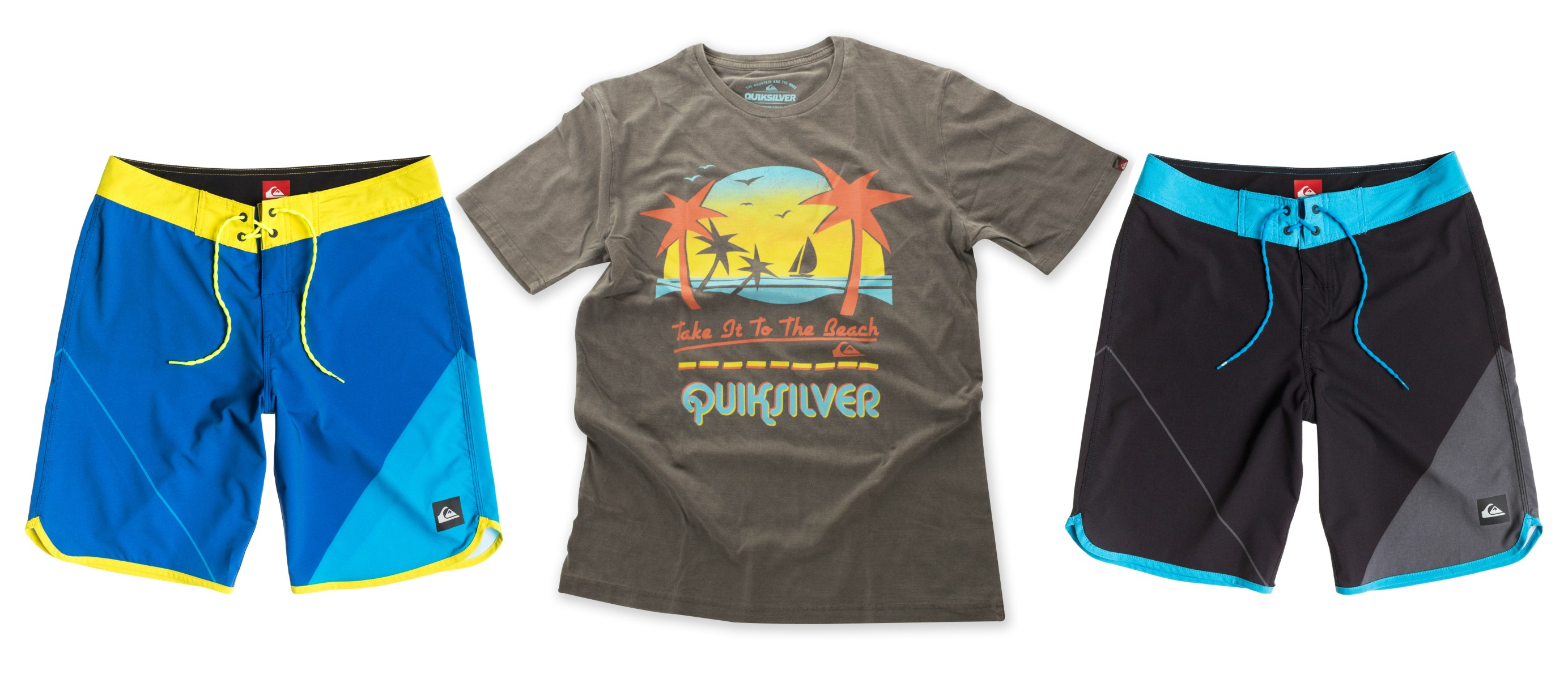 The Quiksilver summer range is here