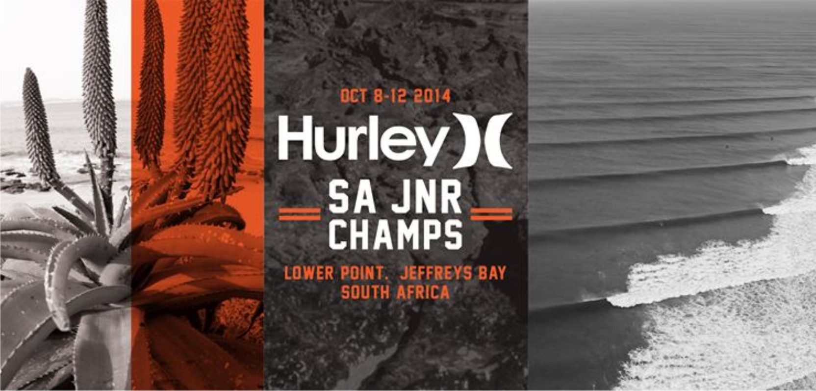 The Hurley SA Junior Champs are underway in Jeffreys Bay