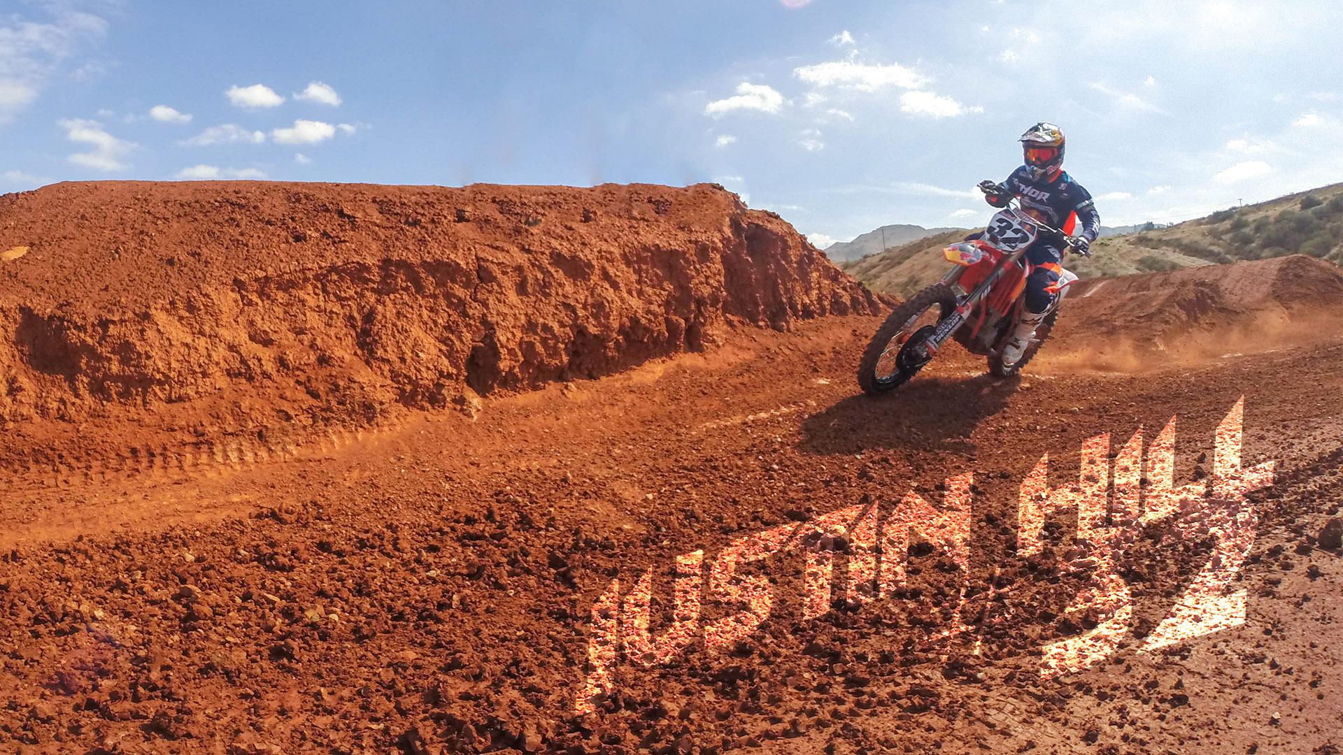 Justin Hill Red Bull KTM Motocross Video