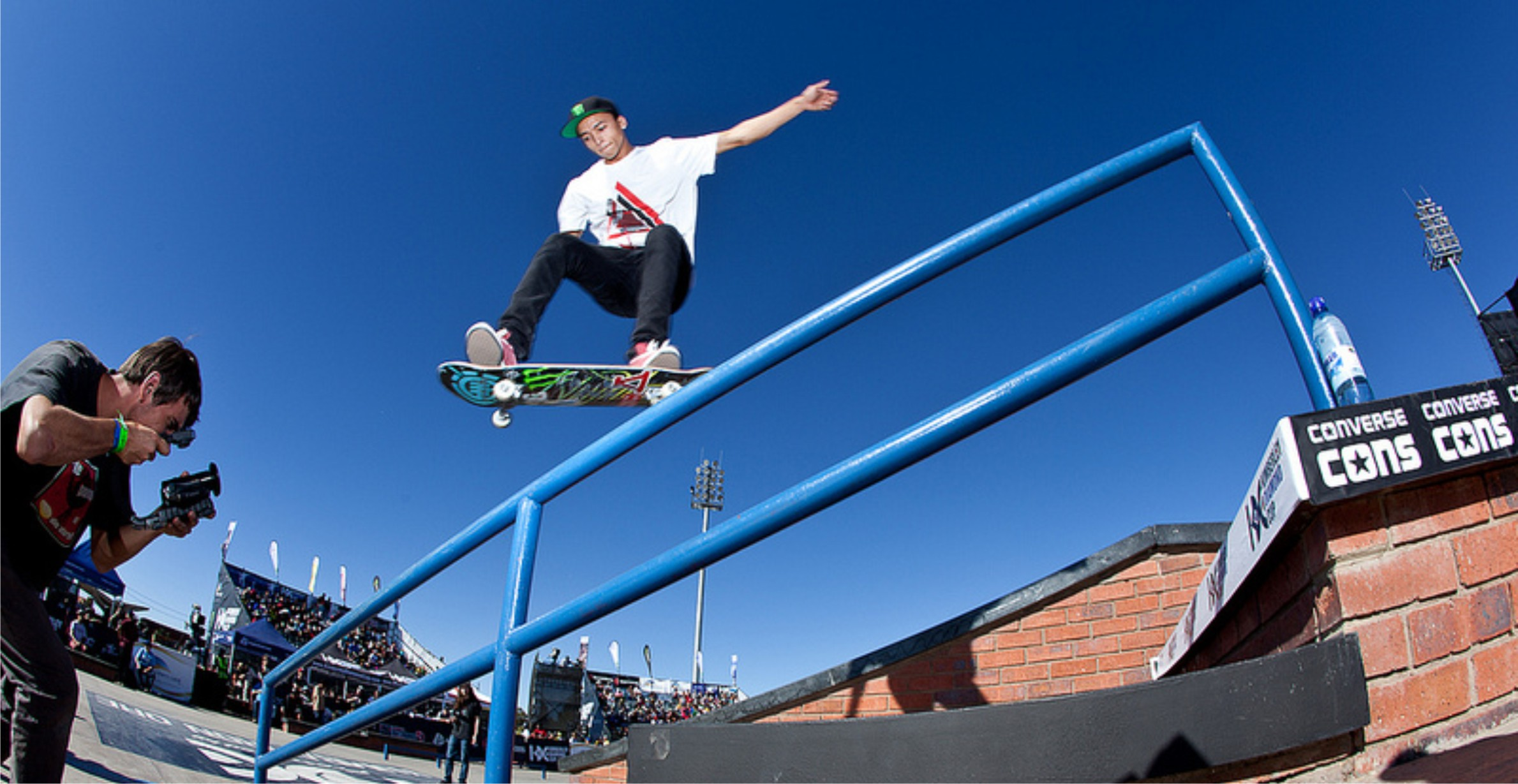 Nyjah Huston will be back in South Africa for the KDC