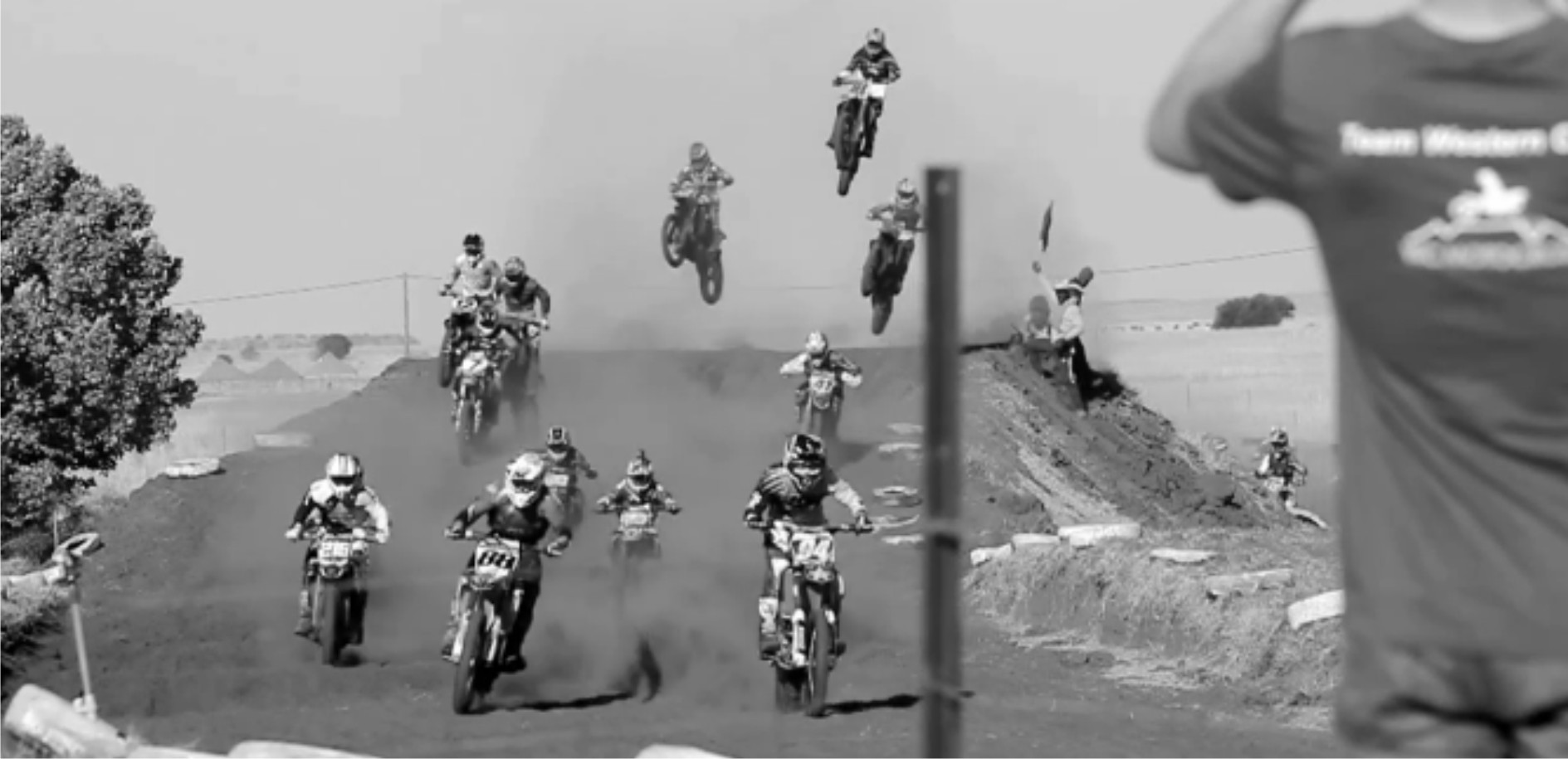 North vs South motocross video