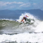 Surfing action from day 2 of the Hurley SA Junior Champs