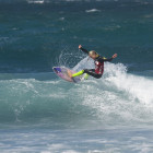 Emma Smith surfing her way to the Billabong Junior Series win