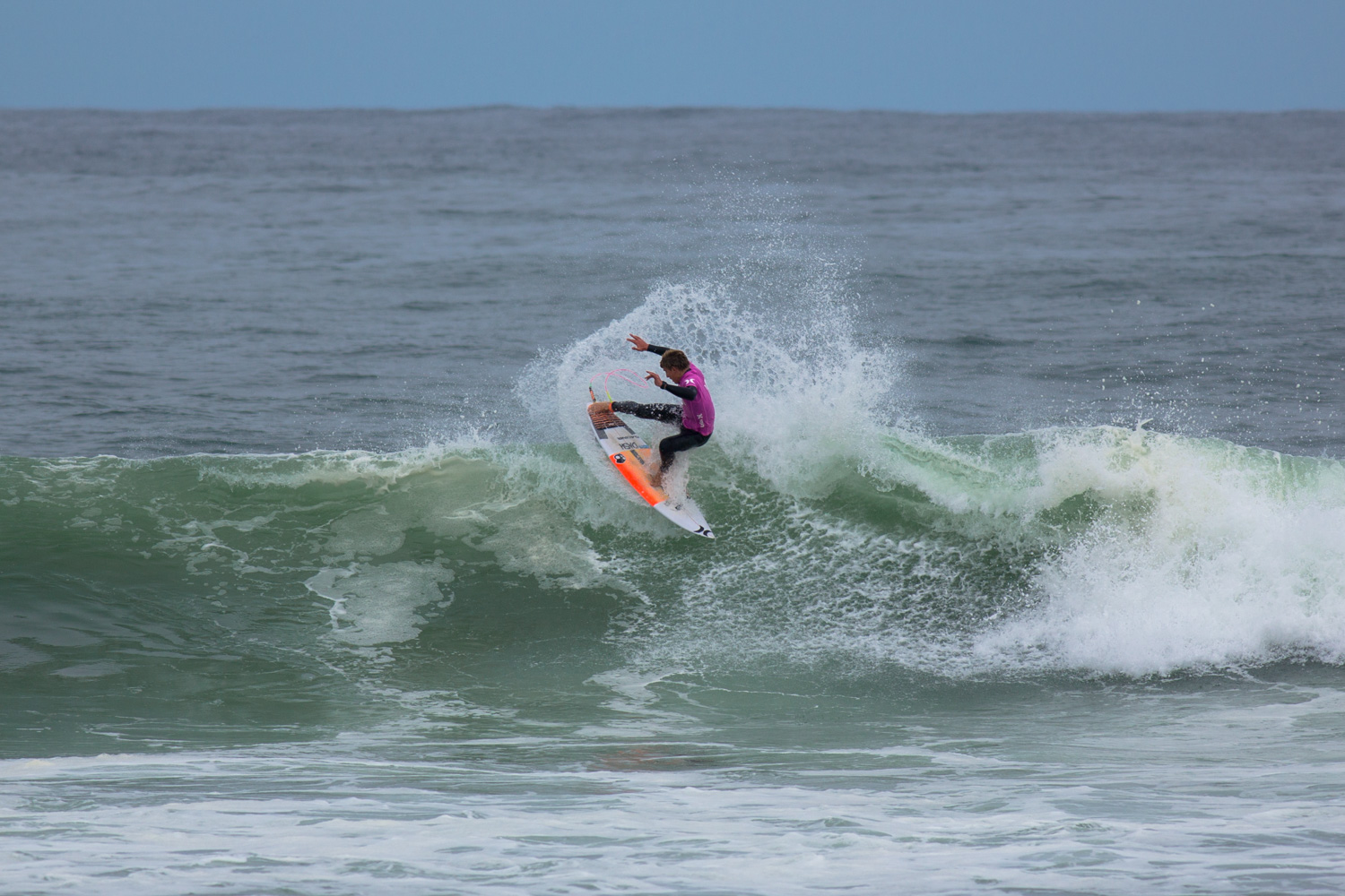 Matt McGillivray surf action it the Hurley SA champs