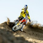 Kerim Fitz-Gerald gets ready to guide young motocross riders in the Red Bull My Track event