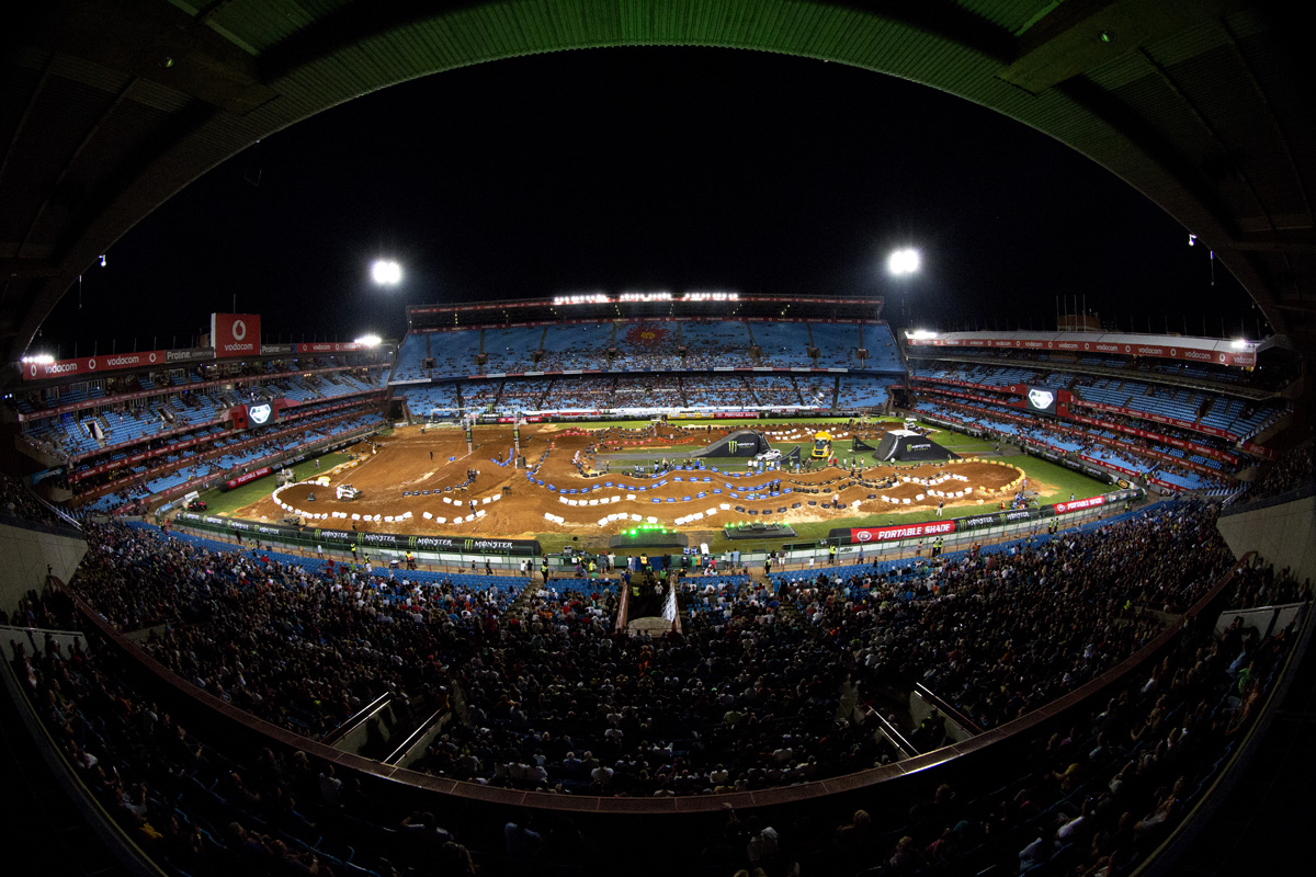 Watch the highlight video from Supercross Africa