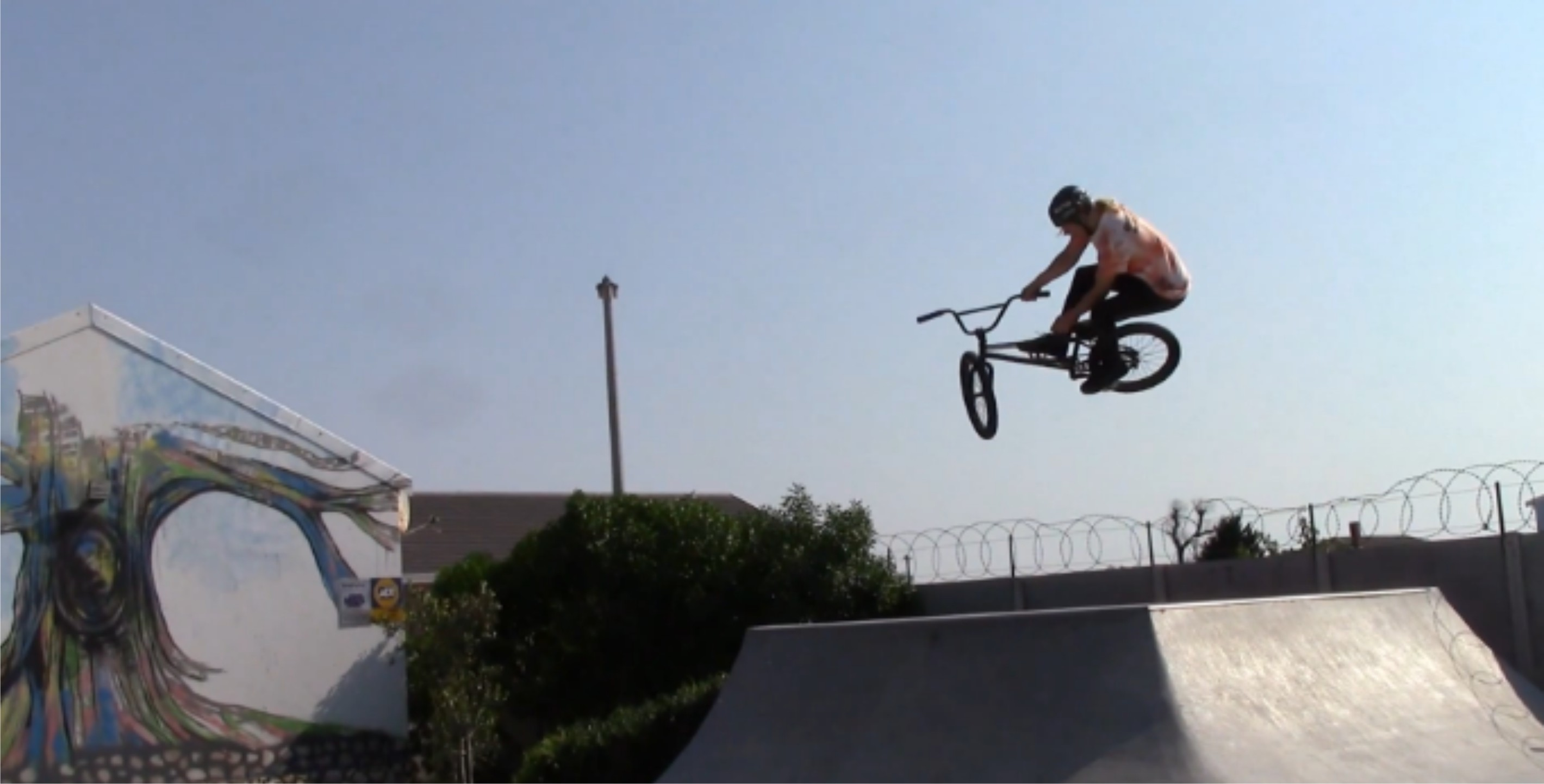 Morgan O'Kennedy and Murray Loubser Langebaan BMX Mission video