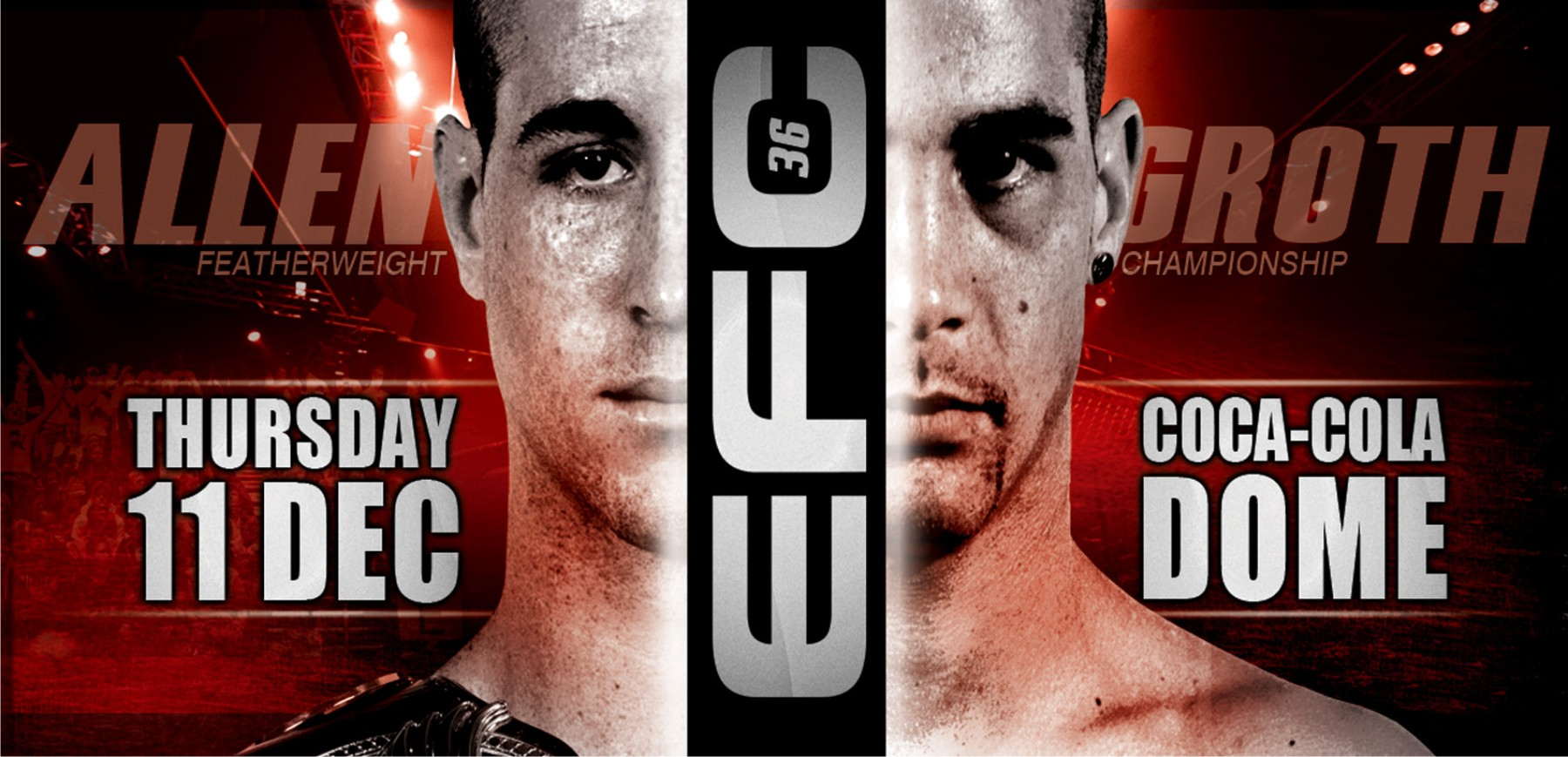 EFC 36 bring the last MMA Fight Card of 2014 to the Coca Cola Dome