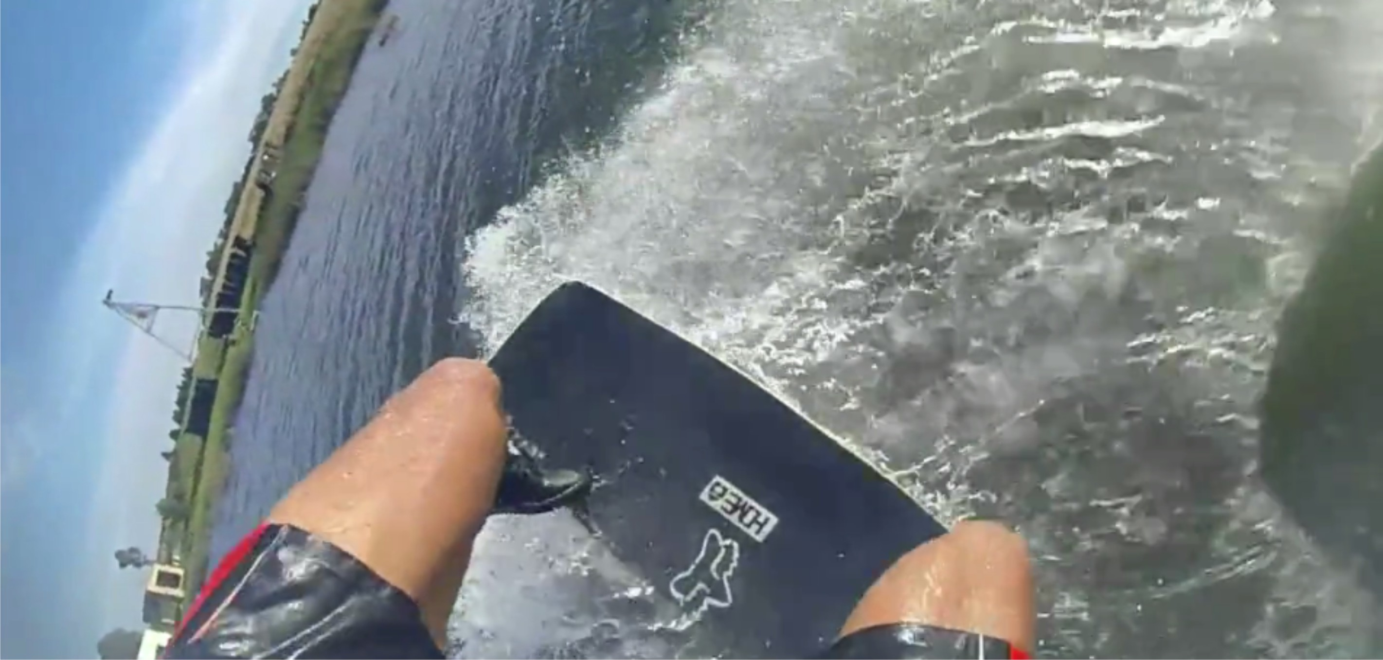 Go wakeskating with Matti Buys in this on-board video