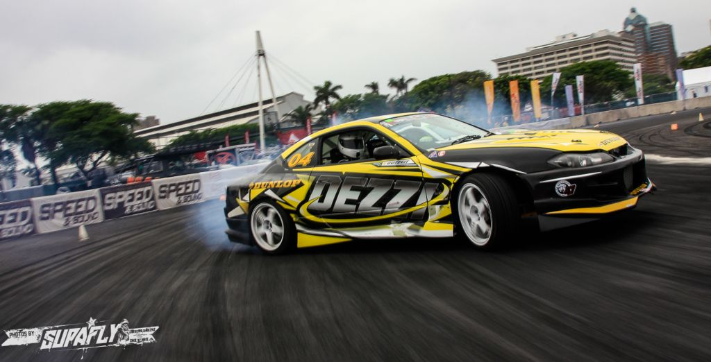 Drifting at its best at the final round of the 2014 SupaDrift Series