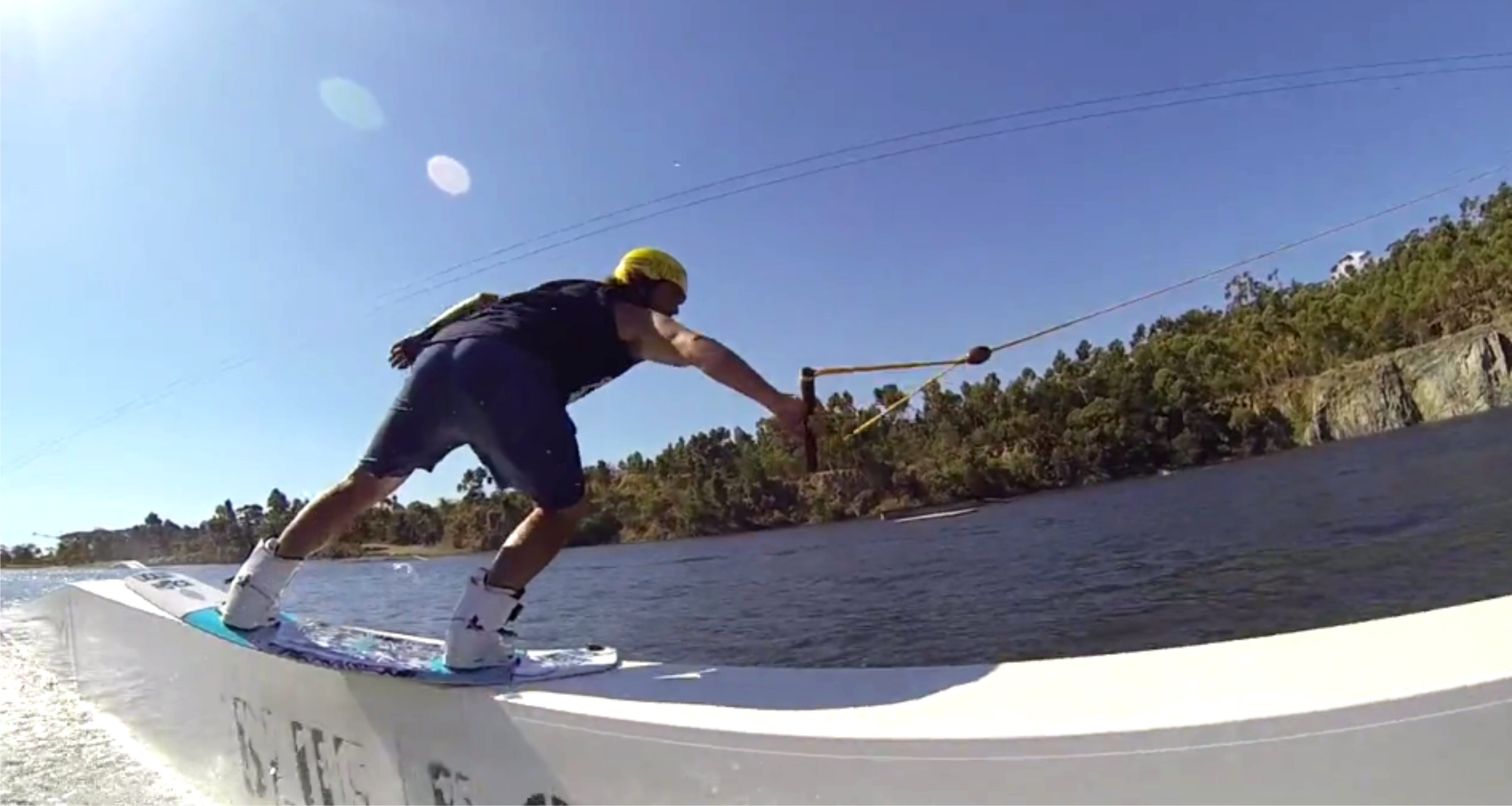 Craig Eygenberger with his latest Wakeboarding edit